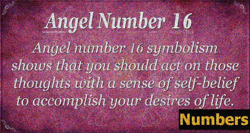 Eņģeļa skaitlis 16 Nozīme - lēmumi, kas maina dzīvi