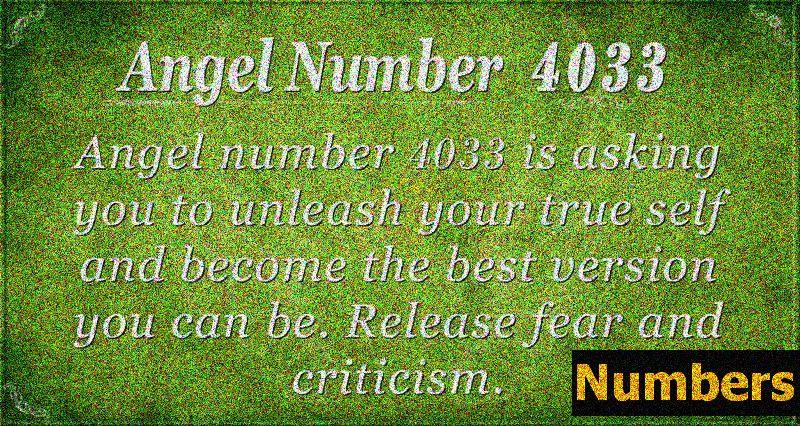 Engel Nummer 4033 Bedeutung: Zeichen der Göttlichkeit