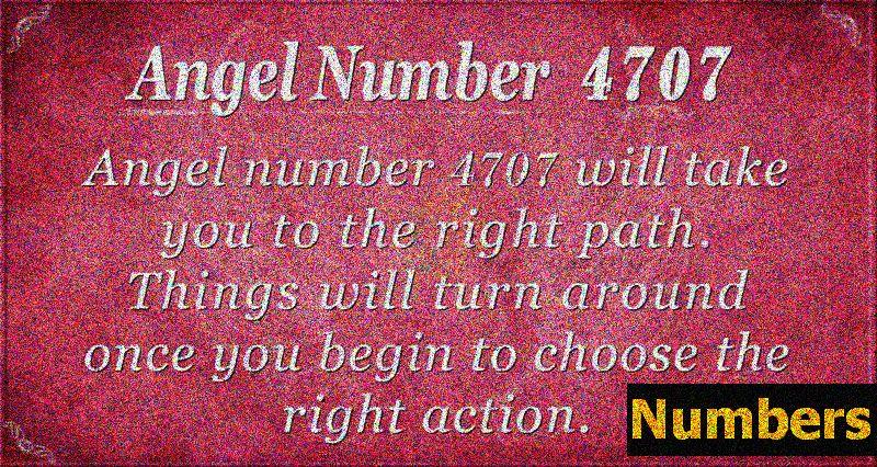 Ангел номер 4707 Значение: Привеждане в съответствие с Безкрайното Аз