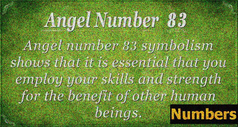 Ангел номер 83 Значение - голямо изобилие и надежда