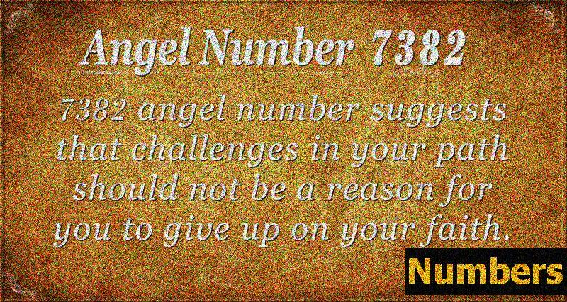 Andělské číslo 7382 Význam: Bouře pomine