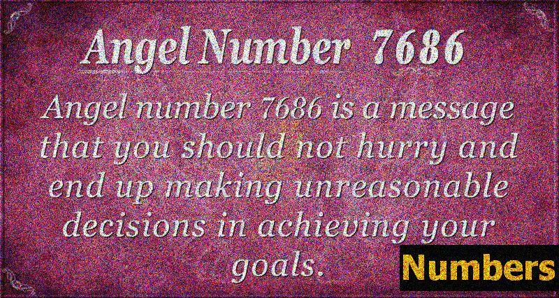 Anjel číslo 7686 Význam: Robte prospešné rozhodnutia