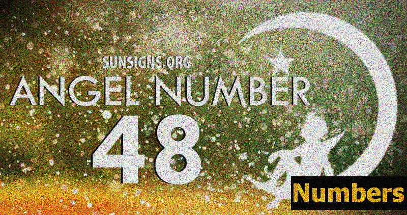 Angel Numbers Repeating Sequence - Gemischt (4, 8)