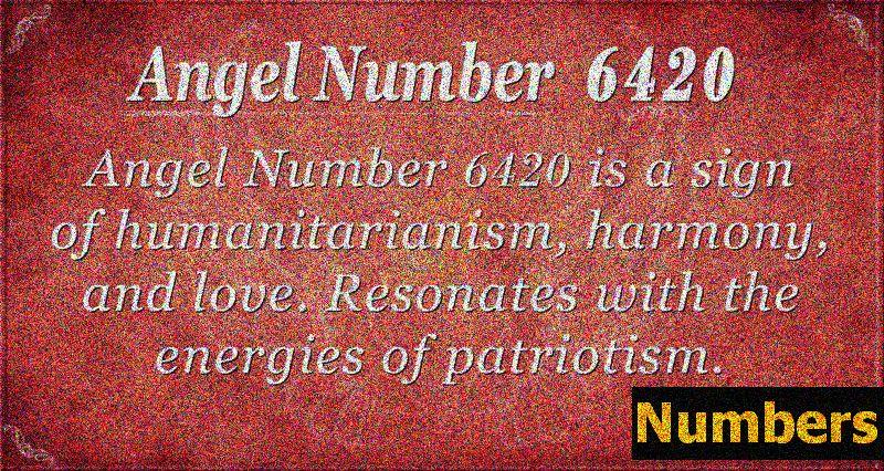 Ангелски номер 6420 Значение - Радостта от служенето на другите