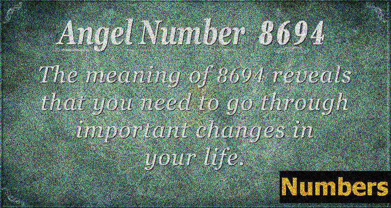 Число ангела 8694 Значення: зробити позитивний вибір