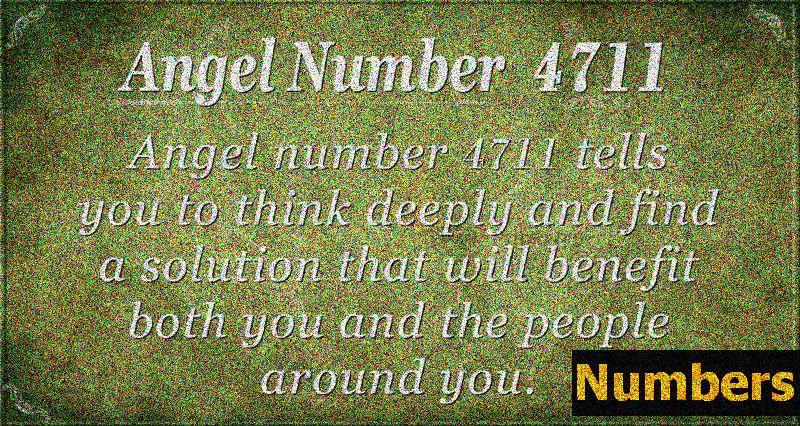 Andělské číslo 4711 Význam: Přemýšlejte o ostatních