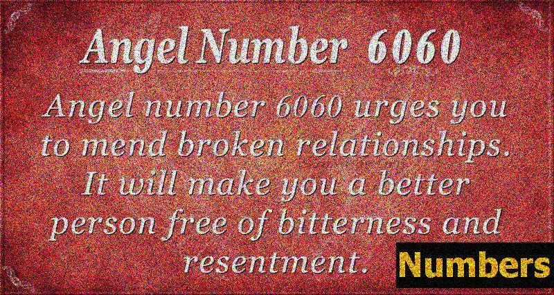 Significado do número do anjo 6060 - Assuntos Domésticos e Vida Familiar