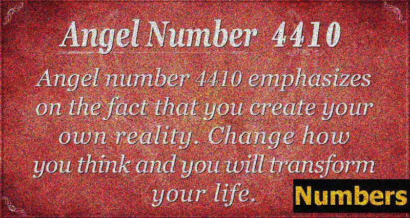 Ангел број 4410 Значење: Привлачење обиља