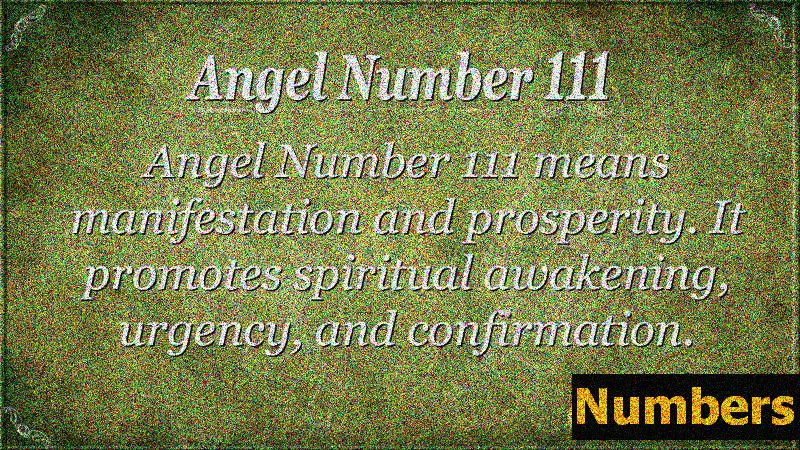 Angel Numbers 000, 111, 222, 333, 444, 555, 666, 777, 888, 999