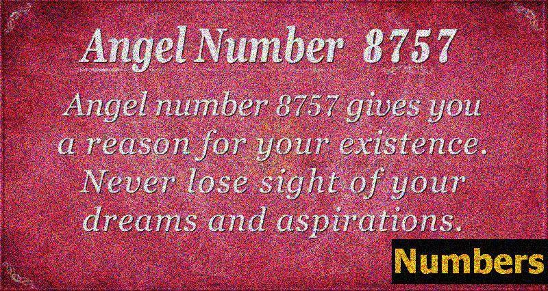 Ingli number 8757 Tähendus: miski ei tohiks kunagi unistada