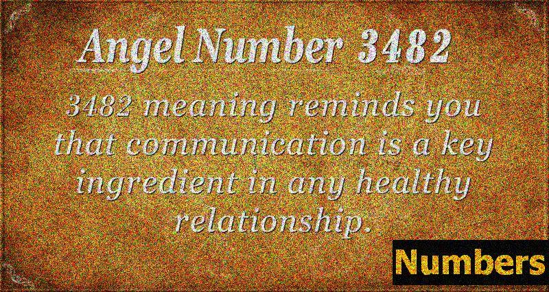 Số thiên thần 3482 Ý nghĩa: Mối quan hệ & Hạnh phúc