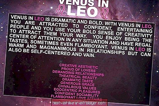Venus in Leo, Mars in Leo