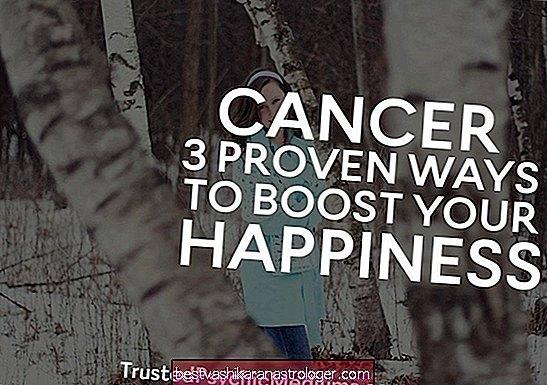 Ung thư: 3 cách đã được chứng minh để tăng cường hạnh phúc