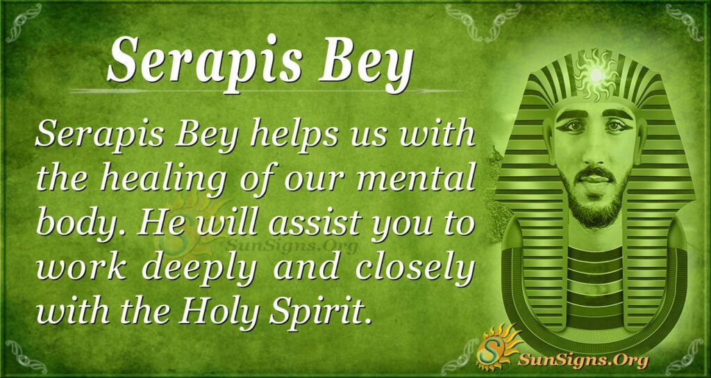 Serapis Bey - Chohan of the Fourth Ray